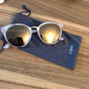 Super cute pair of grayish/blue &purple sunglasses